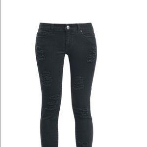 Black sculpting body con  jeans